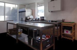 Vernieuwde productiekeuken Leon Donker Catering